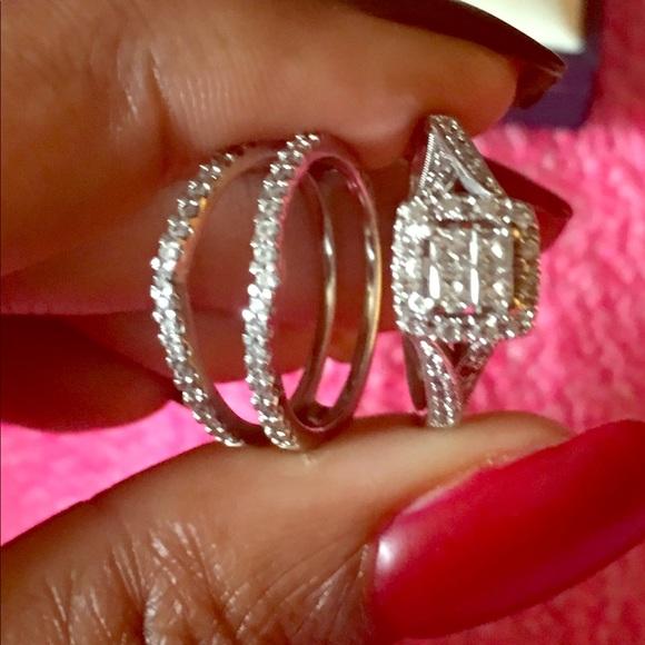 Kay Jewelers Jewelry Wedding Ring Set Poshmark